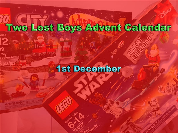 Two Lost Boys Advent Calendar 1st December