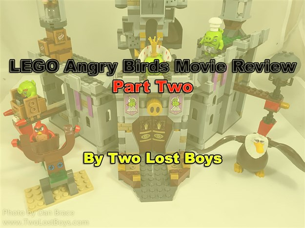 LEGO Angry Birds Movie Review - Part Two