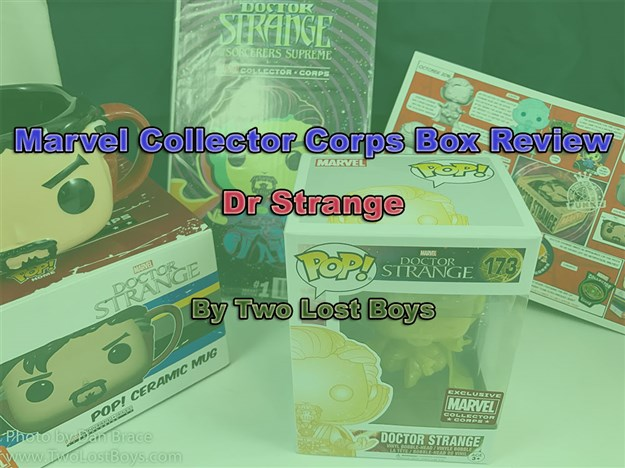 Marvel Collector Corps - Dr Strange