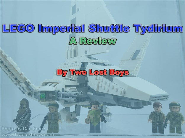 LEGO Imperial Shuttle Tydirium Review