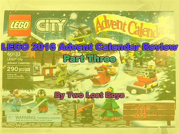 lego 2016 advent calendar review part three two lost. Black Bedroom Furniture Sets. Home Design Ideas