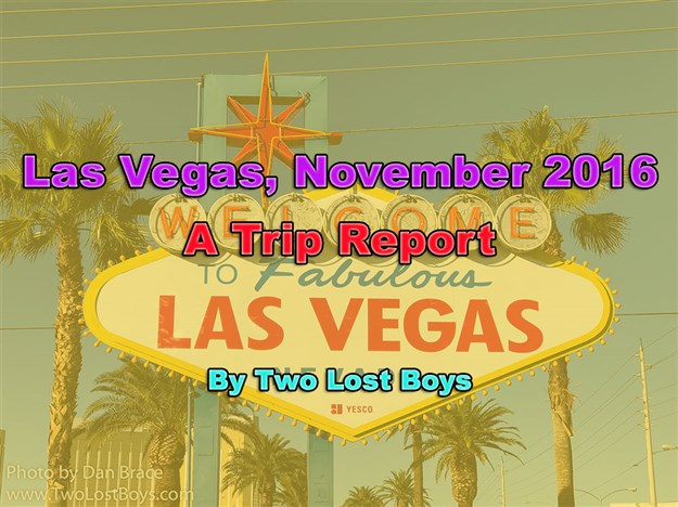 Las Vegas, November 2016 - A Trip Report