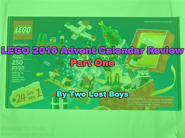 LEGO 2016 Advent Calendar Review, Part One