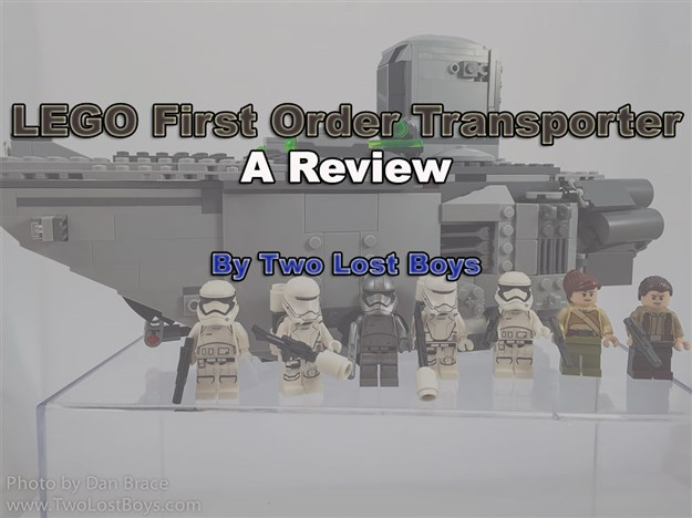 LEGO First Order Transporter Review