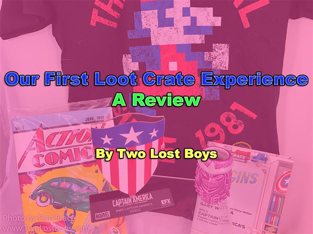 A Review of Our First Loot Crate Experience (updated May 2017)