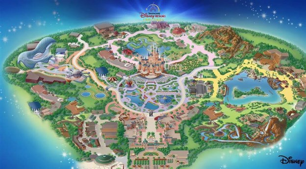 Detailed Shanghai Disney Resort plans announced!
