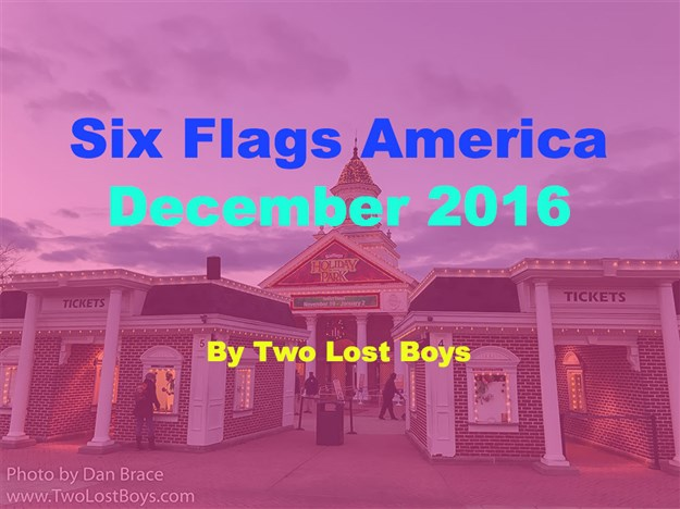 Six Flags America, Christmas 2016