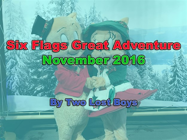 Six Flags Great Adventure, November 2016