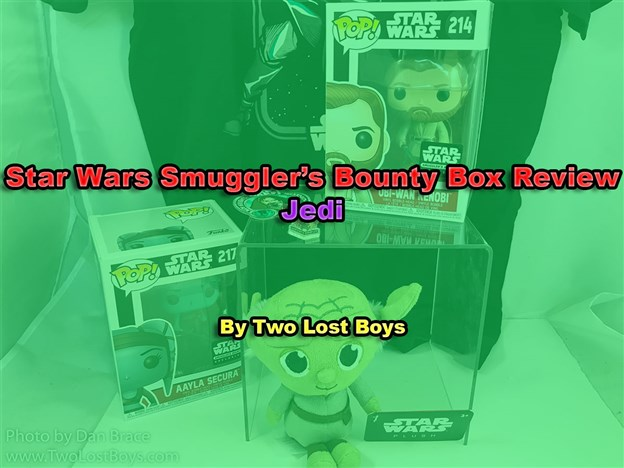 Star Wars Smuggler's Bounty Box Review - Jedi