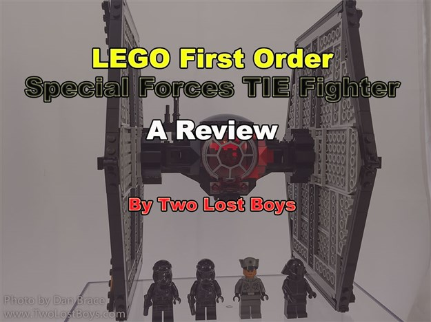 LEGO First Order Special Forces TIE Fighter Review