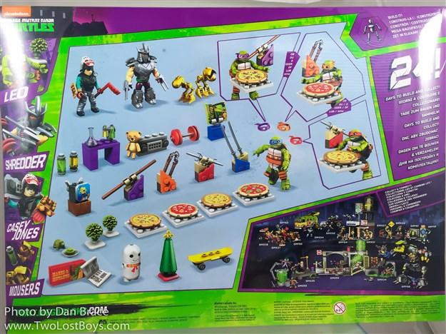 Mega Bloks TMNT Toy Teenage Mutant Ninja Turtles Xmas Advent Calendar Includ