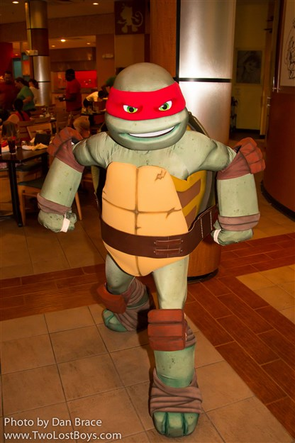 Dinner with the TMNT, May 2016 - A Report - Two Lost Boys Blog