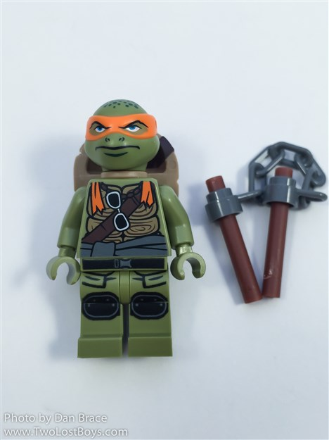 Lego New Teenage Mutant Ninja Turtles Raphael Minifigure from Set 79116 Fig