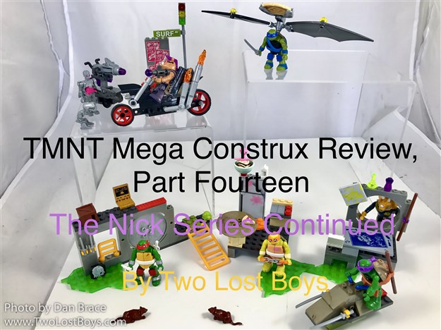 TMNT Mega Construx Review, Part Fourteen - The Nick Series Continued