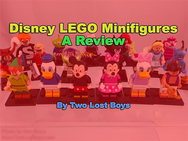 Disney LEGO Minifigures Review