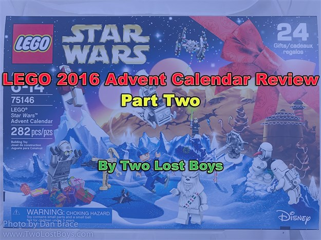 LEGO 2016 Advent Calendar Review, Part Two