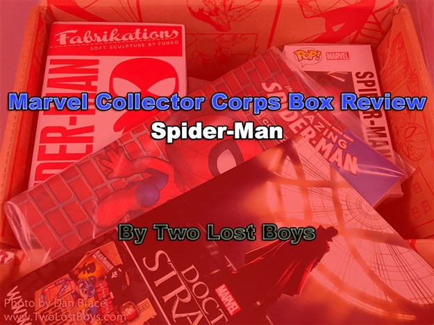 Marvel Collector Corps - Spider-Man Box Review