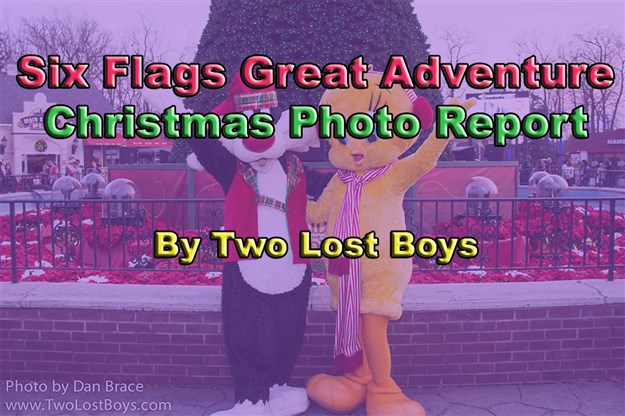 Six Flags Great Adventure Christmas - Photo Round-up