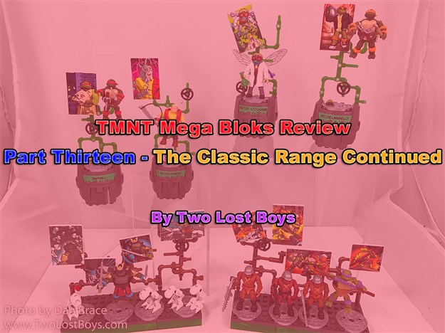 TMNT Mega Bloks Review, Part Thirteen - The Classic Series Continued