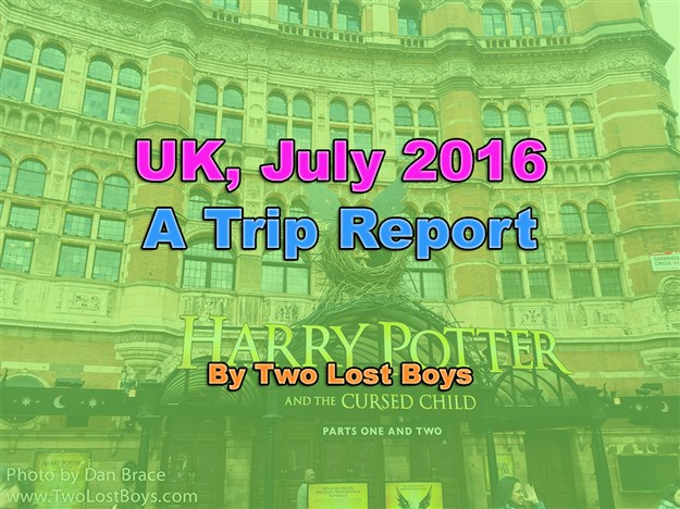 Visiting the UK, July 2016