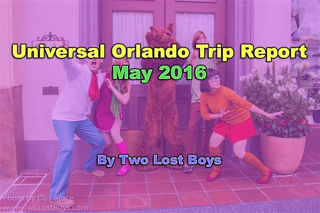 Universal Orlando May 2016 Trip Report