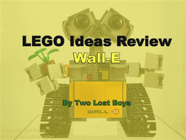 LEGO Ideas Review - WALL-E